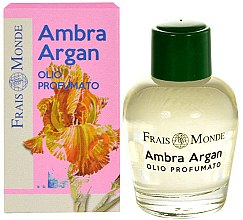 Parfumuri și produse cosmetice Ulei parfumat - Frais Monde Ambra Argan Perfume Oil