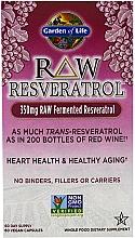 "Parfumuri și produse cosmetice Supliment alimentar ""Resveratrol"" - Garden of Life Raw Resveratrol"