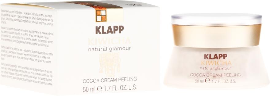 Peeling facial - Klapp Kiwicha Cocoa Cream Peeling — Imagine N1