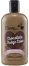 Parfumuri și produse cosmetice Cremă-Spumă de duș - I Love... Chocolate Fudge Cake Bubble Bath And Shower Creme