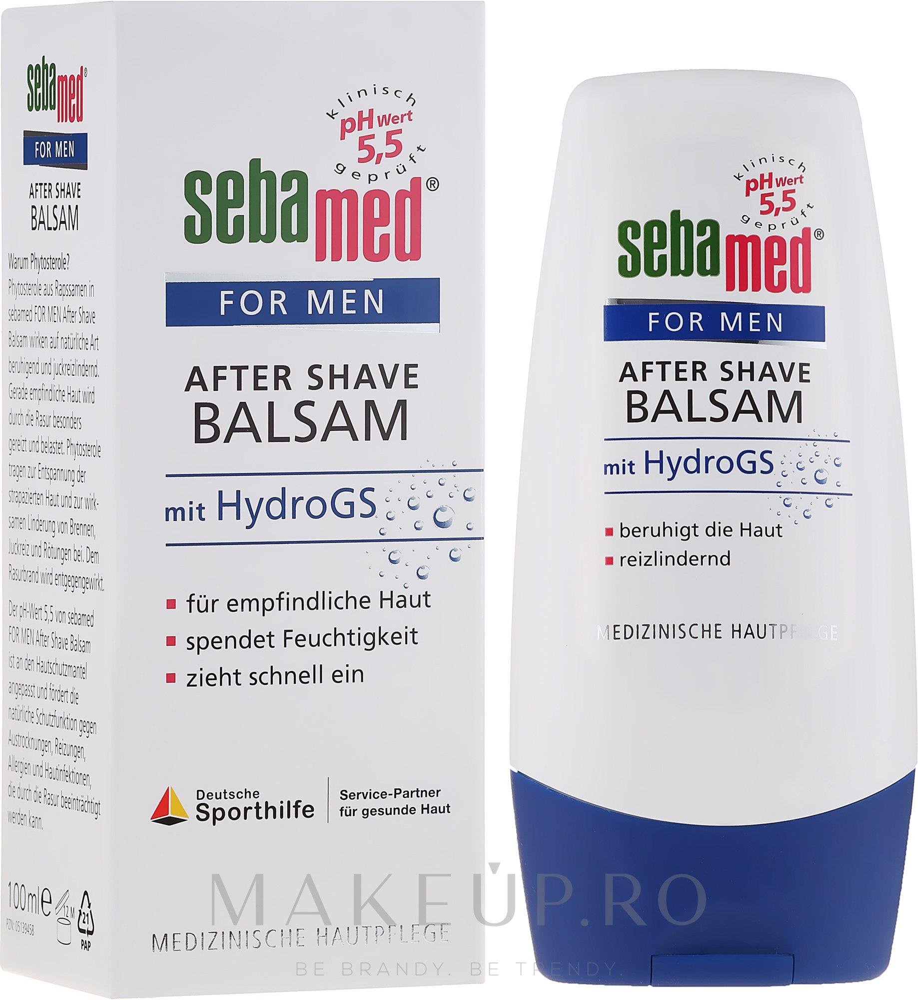 Balsam după ras - Sebamed For Men After Shave Balm Mit Hydrogs — Imagine 100 ml