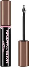 Parfumuri și produse cosmetice Rimel pentru sprâncene - Deborah 24ore Brow Mascara