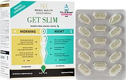 Parfumuri și produse cosmetice Complex de slăbire, 90 buc - Noble Health Get Slim Morning & Night