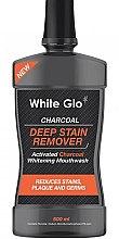 Parfumuri și produse cosmetice Agent de clătire pentru cavitatea bucală - White Glo Charcoal Deep Stain Remover Mouthwash
