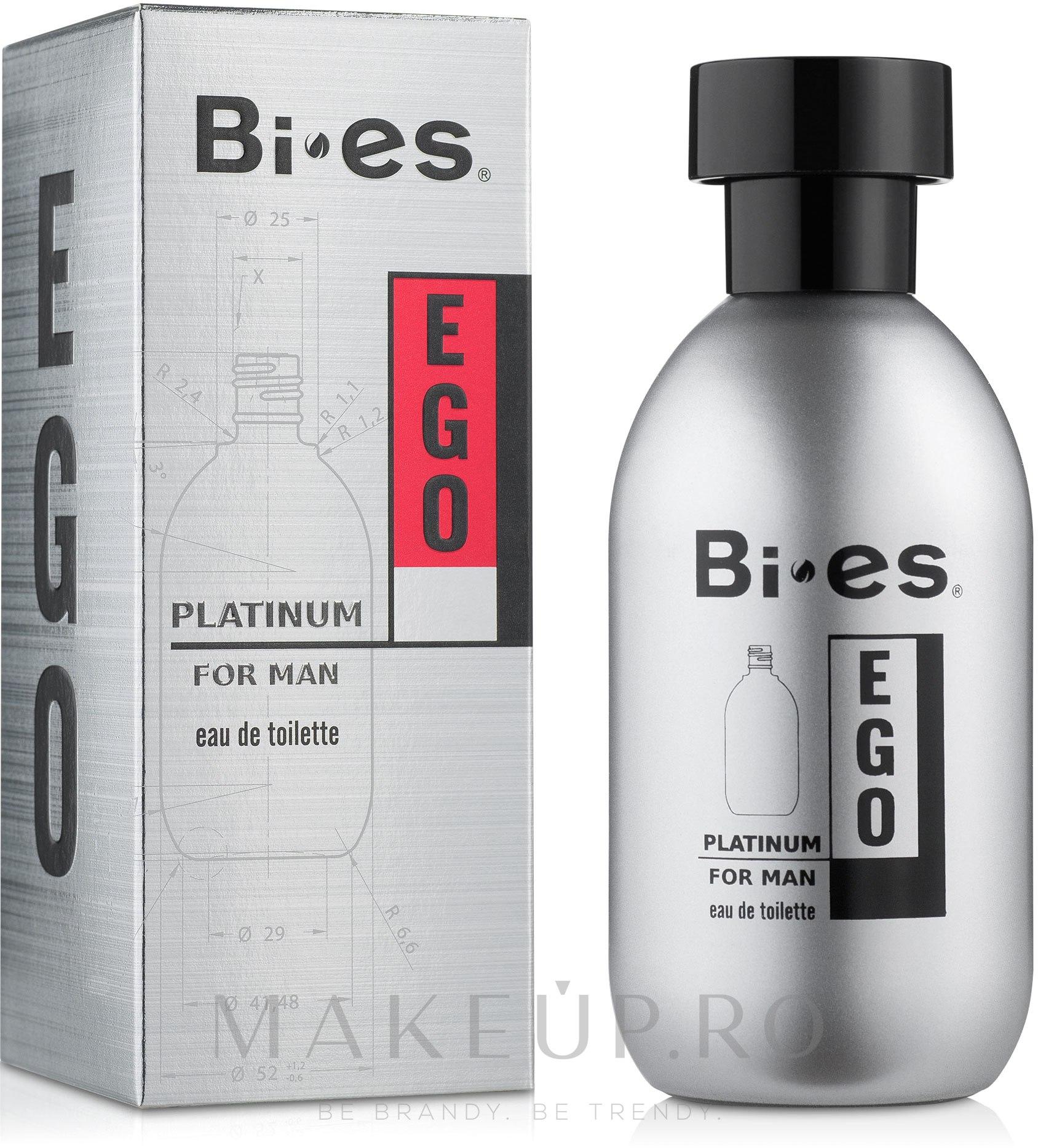 Bi-Es Ego Platinum - Apă de toaletă — Imagine 100 ml