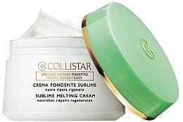 Parfumuri și produse cosmetice Cremă hidratantă pentru corp - Collistar Sublime Melting Cream (tester)