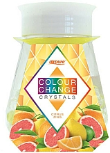 """Parfumuri și produse cosmetice Odorizant gel cu cristale """"Citrus Energy"""" - Airpure Colour Change Crystals Citrus Zing"""