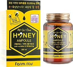 Parfumuri și produse cosmetice Ser multifuncțional de miere pentru față - FarmStay All-In-One Honey Ampoule