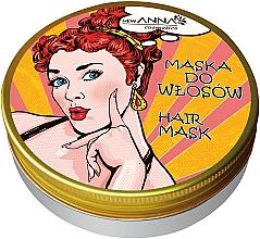 Parfumuri și produse cosmetice Mască pe bază de kerosen cosmetic pentru păr - New Anna Cosmetics Retro Hair Mask