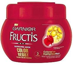 Mască nutritivă - Garnier Fructis Color Resist  — Imagine N2