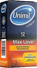 Parfumuri și produse cosmetice Prezervative, 12 buc - Unimil Max Love