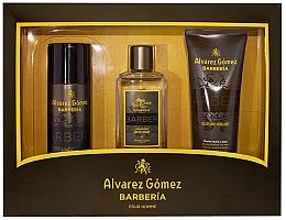 Parfumuri și produse cosmetice Alvarez Gomez Agua De Colonia Concentrada Barberia - Set (edc/150ml + deo/150ml + sh/gel/230ml)