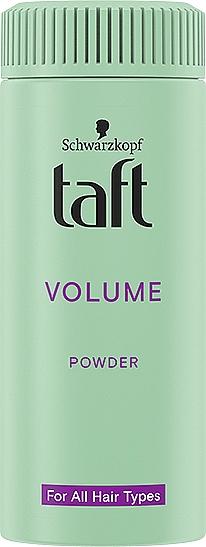 "Pulbere pentru păr ""Volum instantaneu"" - Schwarzkopf Taft Volumen Powder"