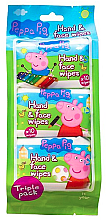 Șervețele umede - Kokomo Peppa Pig Peppa Hand & Face Wipes — Imagine N1