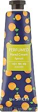 """Parfumuri și produse cosmetice Cremă parfumată de mâini """"Caise"""" - The Saem Perfumed Apricot Hand Cream"""