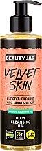 Parfumuri și produse cosmetice Ulei de corp - Beauty Jar Velvet Skin Body Cleansing Oil