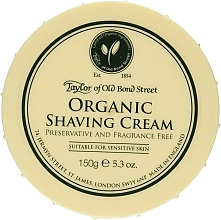 Parfumuri și produse cosmetice Cremă de ras - Taylor of Old Bond Street Organic Shaving Cream