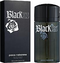Paco Rabanne Black XS - Apă de toaletă — Imagine N2