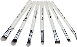 Parfumuri și produse cosmetice Set pensule pentru machiaj - Nanshy Eye Brush Set P. White (Brush/7)