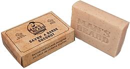Parfumuri și produse cosmetice Săpun exfoliant cu nucă de cocos pentru barbă - Man's Beard Savon Exfoliant Coconut Soap