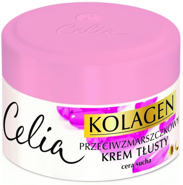 Cremă antirid pentru ten uscat - Celia Collagen Cream