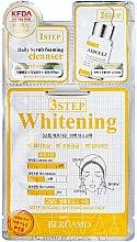 Parfumuri și produse cosmetice Mască pentru față - Bergamo 3-Step Whitening Mask Pack