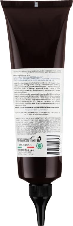 Exfoliant pentru scalp - Niamh Hairconcept Be Pure Detox Scrub — Imagine N2