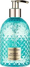 """Parfumuri și produse cosmetice Cremă-săpun pentru mâini """"Iasomie și paciuli"""" - Vivian Grey Gemstone Jasmine & Patchoul"""