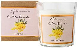 """Parfumuri și produse cosmetice Lumânare parfumată """"Mimosa"""" - Ambientair Le Jardin de Julie Mimosa"""