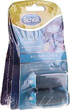 Duze role pentru pilă electrică - Scholl Velvet Smooth (3 x roller/2pcs) — Imagine N1