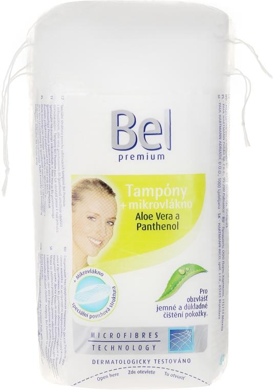 Discuri din bumbac - Bel Premium Oval Pads with Aloe Vera — Imagine N2