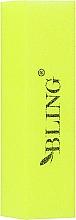 Parfumuri și produse cosmetice Buffer pentru unghii, galben - Bling