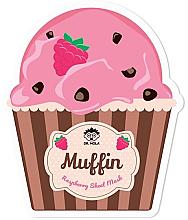 Parfumuri și produse cosmetice Mască din țesătură pentru față - Dr. Mola Muffin Raspberry Sheet Mask