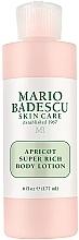 Parfumuri și produse cosmetice Loțiune de corp - Mario Badescu Apricot Super Rich Body Lotion