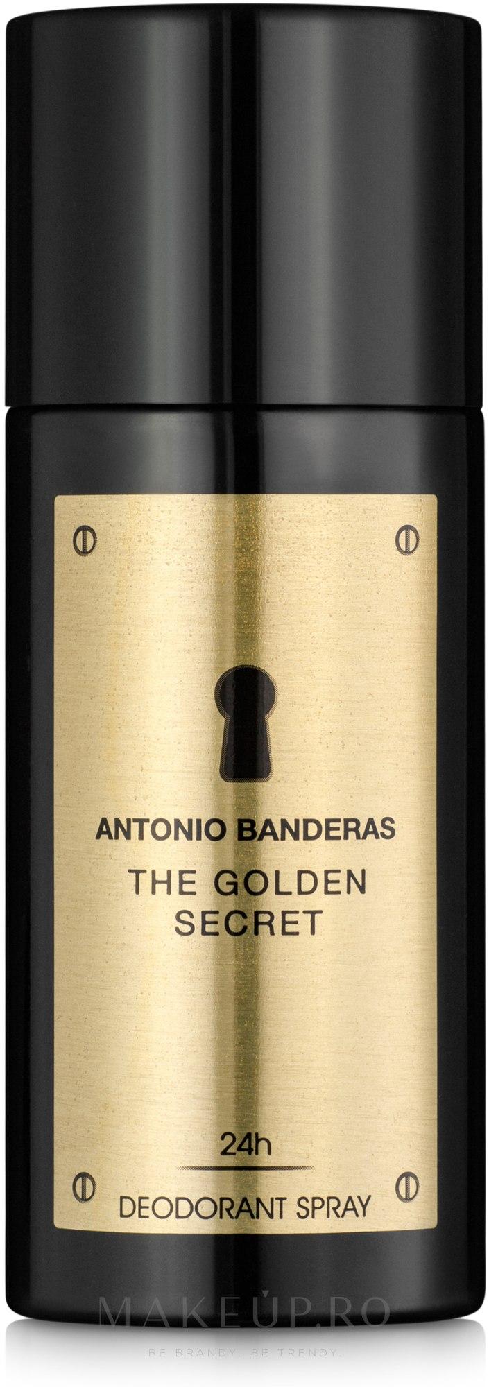 Antonio Banderas The Golden Secret - Deodorant — Imagine 150 ml