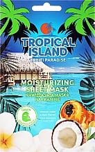 Parfumuri și produse cosmetice Mască de față - Marion Tropical Island Tahiti Paradise Moistirizing Sheet Mask