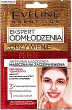 Parfumuri și produse cosmetice Mască împotriva roșeții tenului 3în1 - Eveline Cosmetics Expert Nutrition Actively Soothing Face Mask for Redness