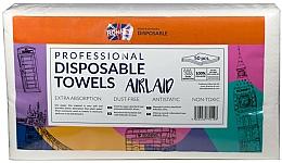 Parfumuri și produse cosmetice Prosoape de unică folosință, 50 bucăți - Ronney Professional Disposable Towels Airlaid