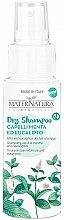 Parfumuri și produse cosmetice Șampon uscat - MaterNatura Dry Shampoo with Mint & Eucalpytus