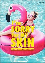 Parfumuri și produse cosmetice Mască de față, după plajă - Ultru I'm Sorry For My Skin S.O.S Jelly Mask Soothing