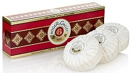 "Set trei săpunuri parfumate ""Jean Marie Farina"" - Roger & Gallet Jean Marie Farina Perfumed Soaps (soap/3x100g ) — Imagine N3"