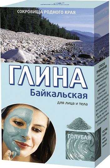 """Argilă pentru față și corp """"Baikal"""", albastră - FitoKosmetik"""