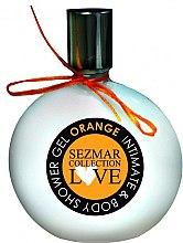 """Parfumuri și produse cosmetice Gel de duș și igienă intimă """"Orange"""" - Sezmar Collection Love Orange Intimate & Body Shower Gel"""