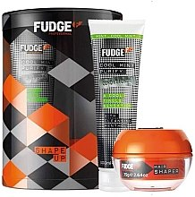 Parfumuri și produse cosmetice Set - Fudge Shape Up Giftset (shm/300ml+h/cream/75g)
