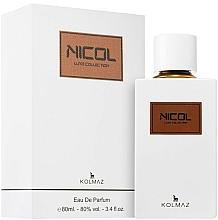Parfumuri și produse cosmetice Kolmaz Luxe Collection Nicol - Apă de parfum