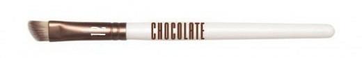 Pensulă pentru machiaj - Novara Chocolate No. 12 Taklon Banana Shape Brush — Imagine N1