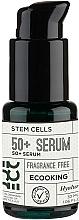 Parfumuri și produse cosmetice Ser facial - Ecooking 50+ Serum