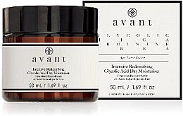 Parfumuri și produse cosmetice Cremă hidratantă cu acid glicolic, de zi - Avant Intensive Redensifying Glycolic Acid Day Moisturiser