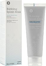 Parfumuri și produse cosmetice Mască de curățare cu argilă și extract de avocado pentru față - Blithe Bubbling Splash Mask Indian Glacial Mud