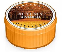 Parfumuri și produse cosmetice Lumânare aromată - Kringle Candle Autumn Amber Daylight
